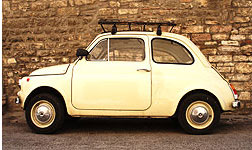 Fiat 500 Altes Modell